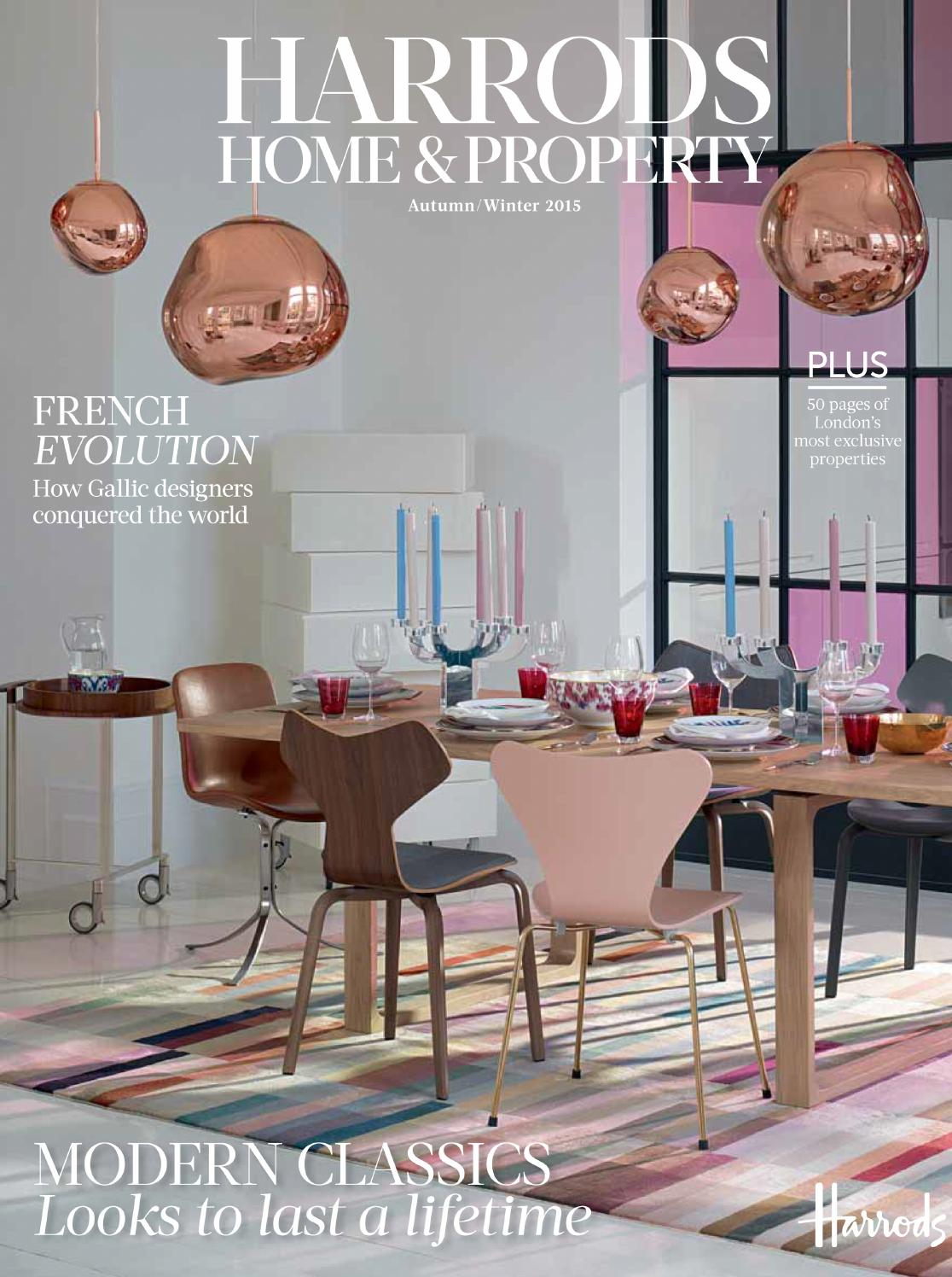 Harrods home property aw15 by harrods online issuu