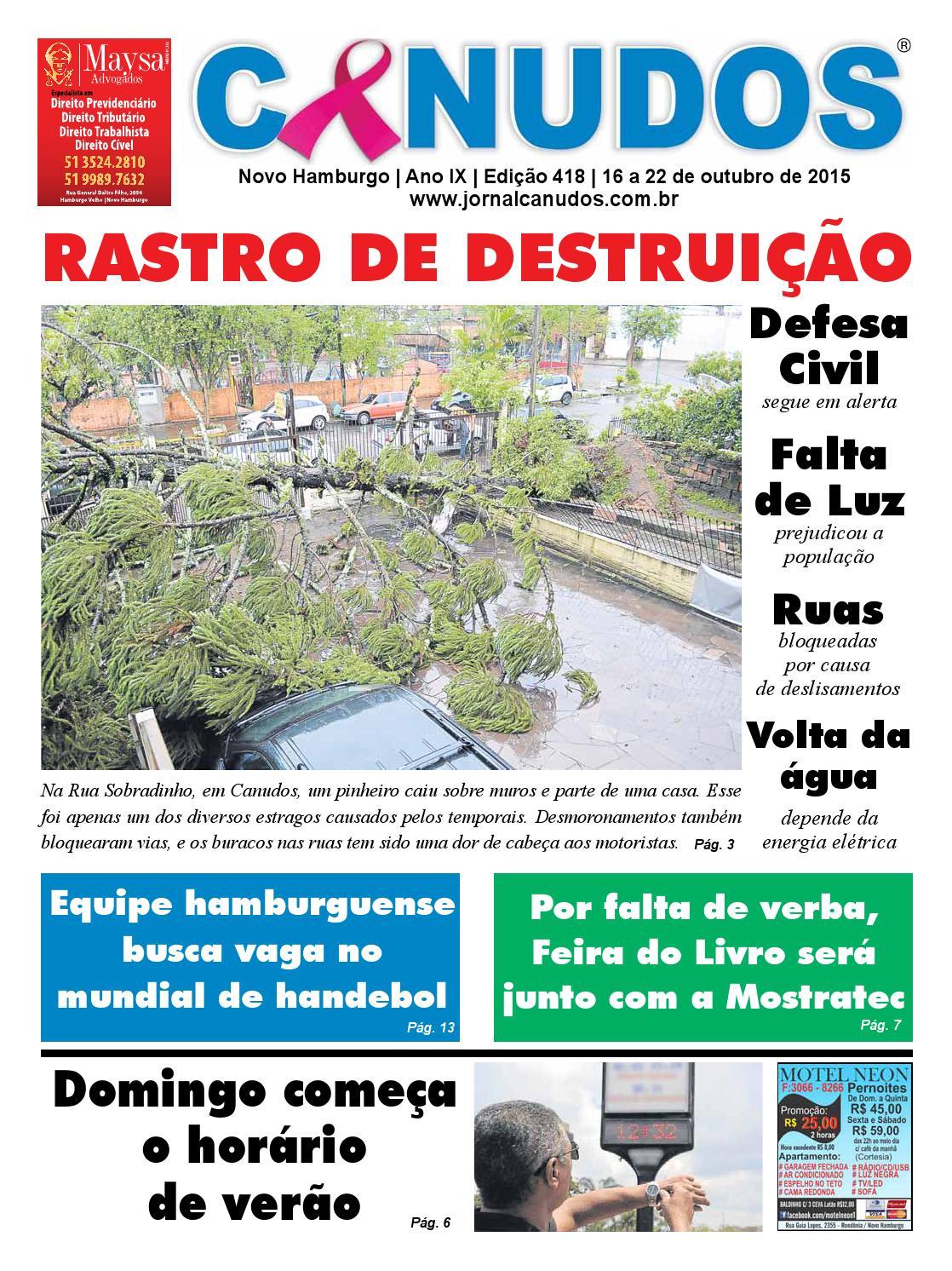 ea2fdc012df Jornal Canudos Edição - 418 by Jornal Canudos - Comercial - issuu