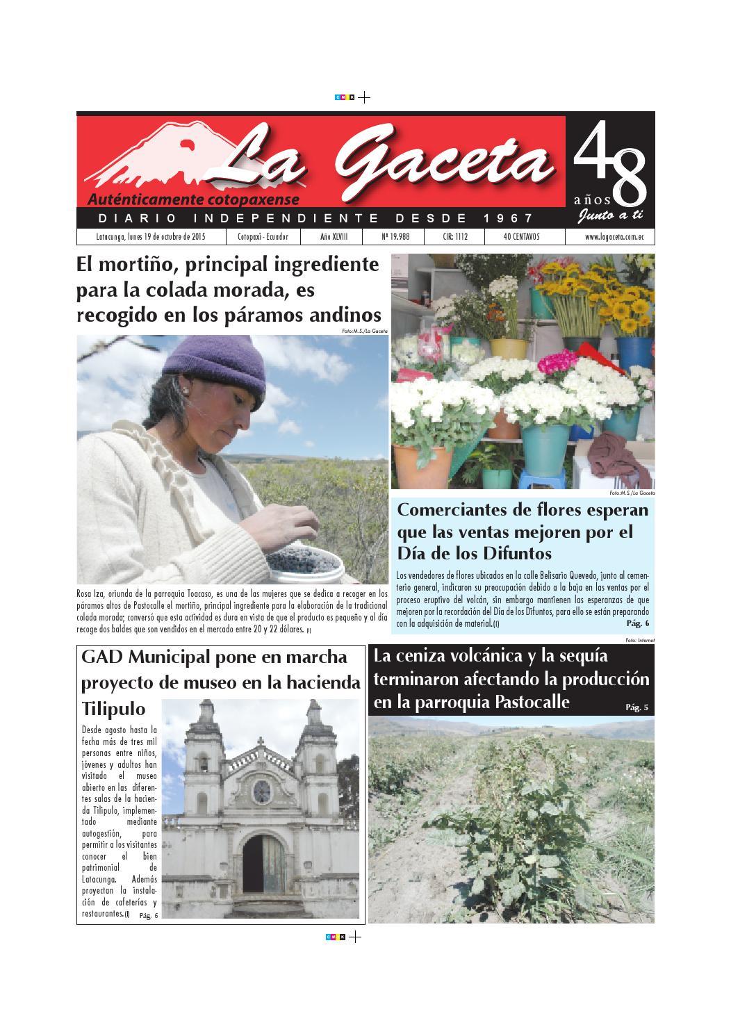La Gaceta 19 Octubre 2015 By Diario La Gaceta Issuu