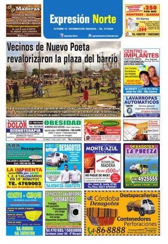 092657b82d0a EXPRESIÓN NORTE - Edición: OCTUBRE 2015 by Fiestas & Sucesos - issuu