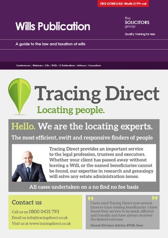a1b21f575c9036 Wills Publication by The Solicitors Group - issuu