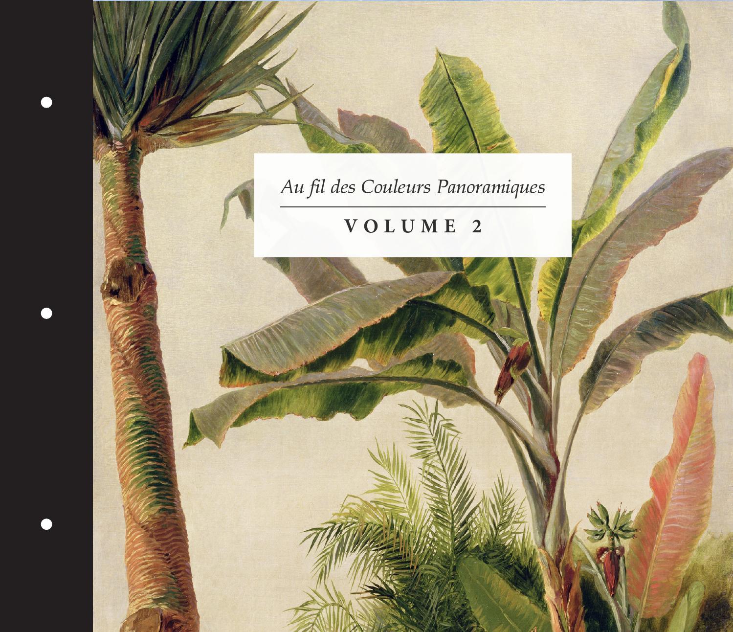 book au fil des couleurs panoramiques volume 2 by au fil. Black Bedroom Furniture Sets. Home Design Ideas