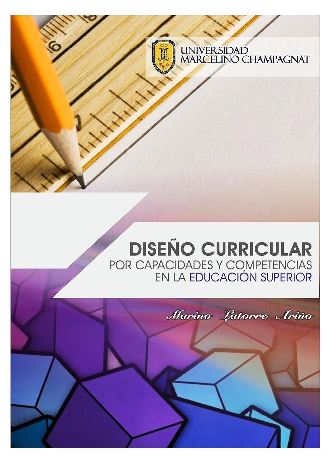 Diseño curricular por capacidades y competencias en educación ...