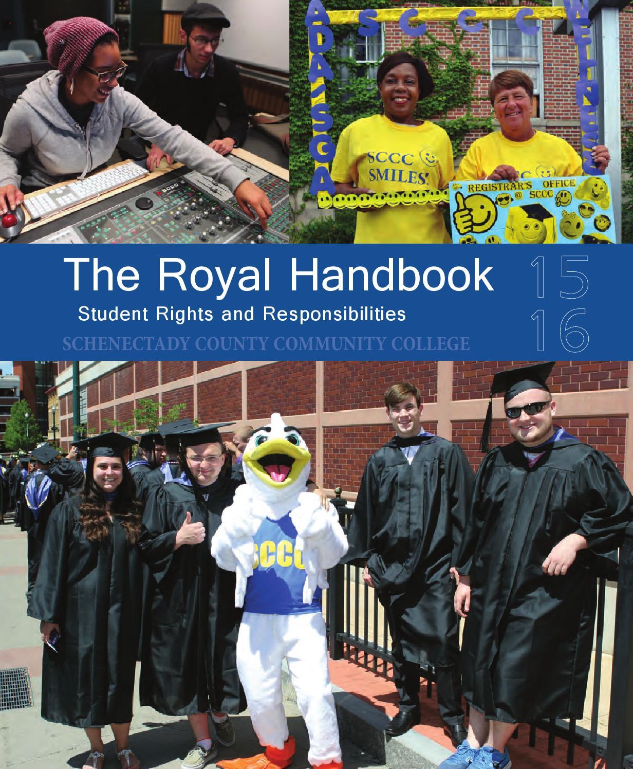 Student Handbook 2015 2016 By Suny Schenectady County Community