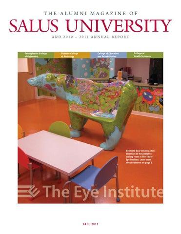 Salus University Alumni Magazine & Annual Report Fall 2011 by