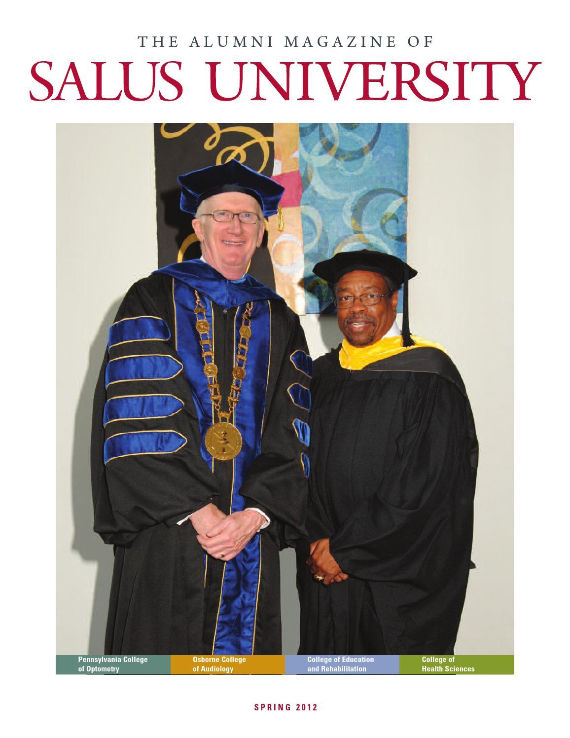 Salus University Alumni Magazine Spring 2012 by Salus ...