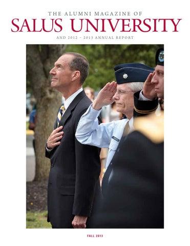 153346253ca Salus University Alumni Magazine   Annual Report - Fall 2013 by ...