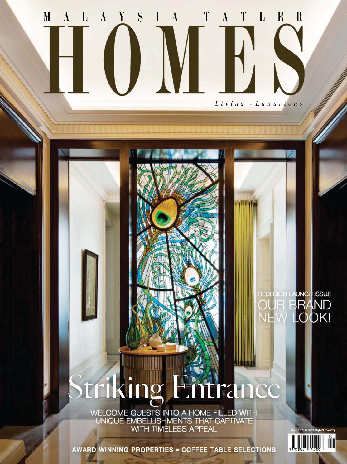 Wondrous Arje5Umalaysia Tatler Homes June July 2015 By Hoosrweam Issuu Gmtry Best Dining Table And Chair Ideas Images Gmtryco