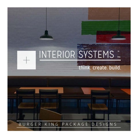 Burger King Package Designs By Interior Systems, Inc.   Issuu