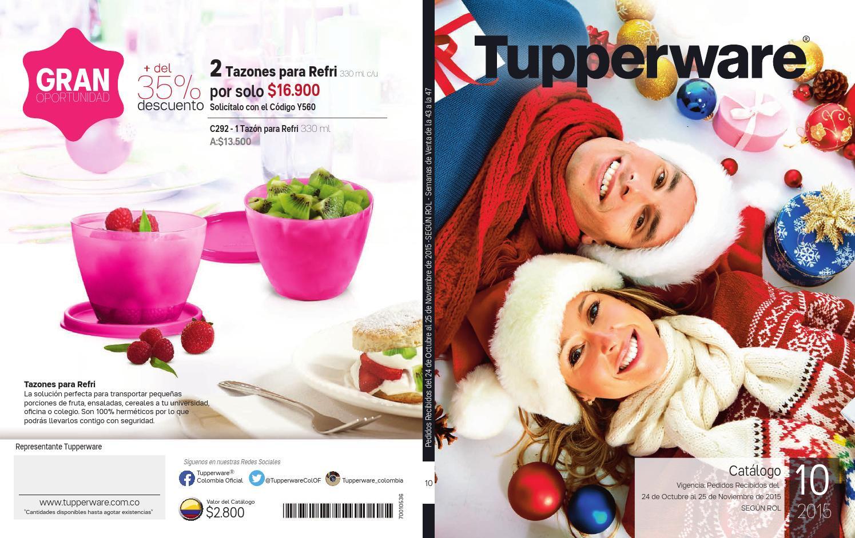 Catalogo 10 Deseos De Navidad By Innova Con Tupperware Issuu