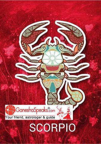 Scorpio Horoscope 2016, Scorpio Astrology 2016 by Bhawna HDI - issuu
