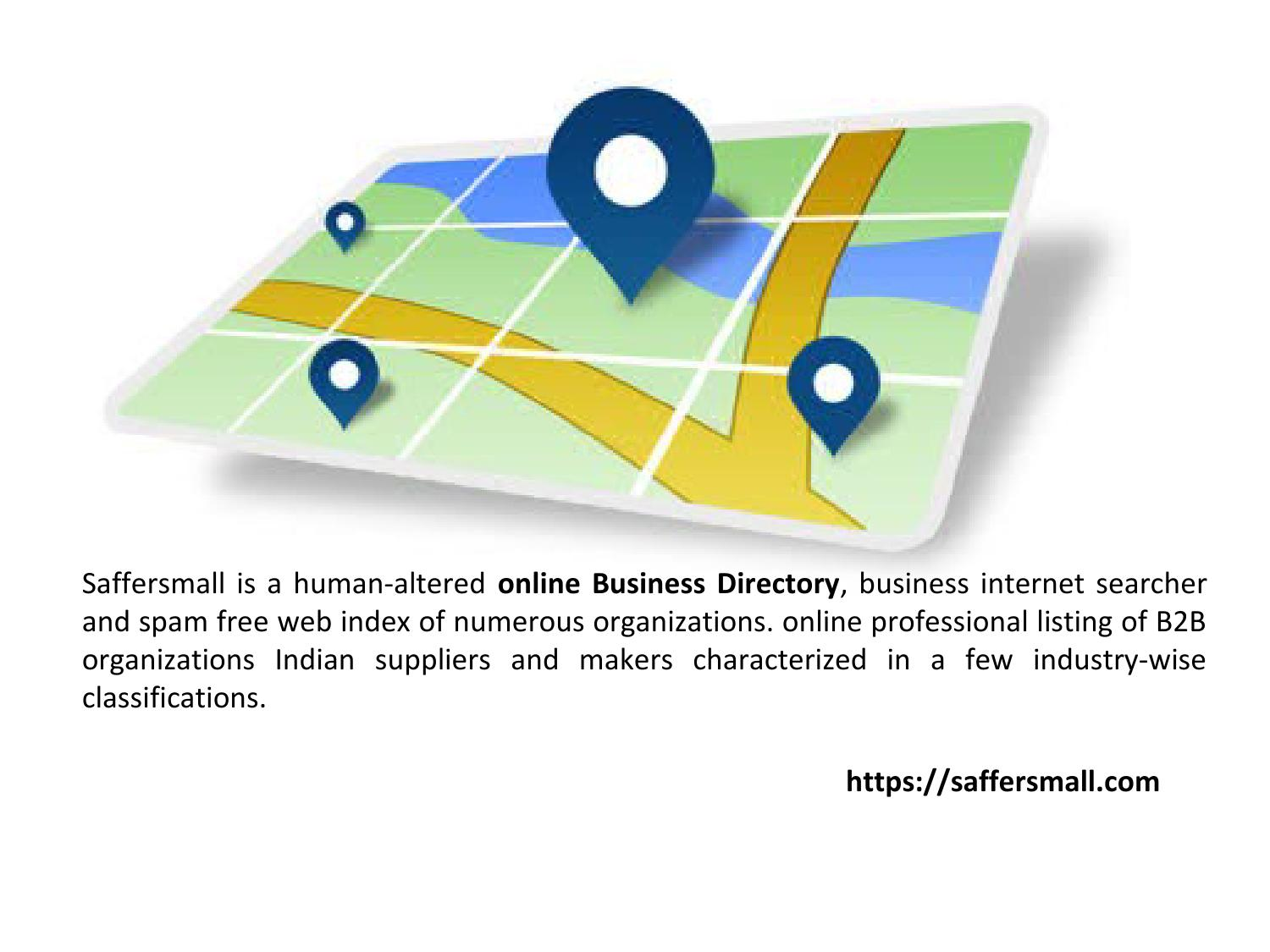 Saffersmall Online Business Listing Directory Promote Your