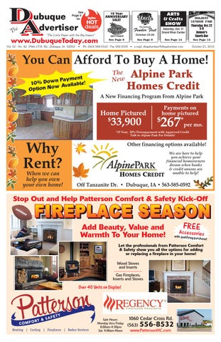 The Dubuque Advertiser October 21 2015 By The Dubuque Advertiser