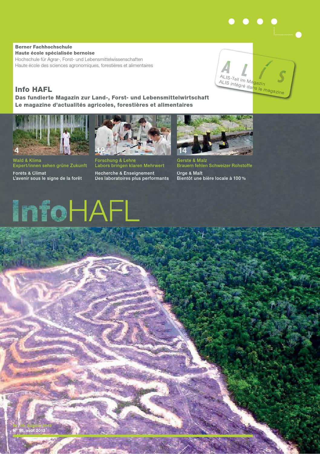 InfoHAFL 2/2013 By BFH HAFL   Issuu