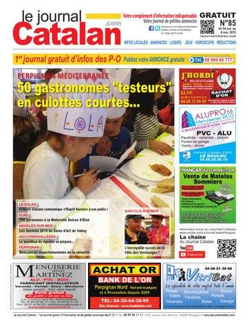 Le Journal Catalan N85 Pyrénées Orientales By Le Journal