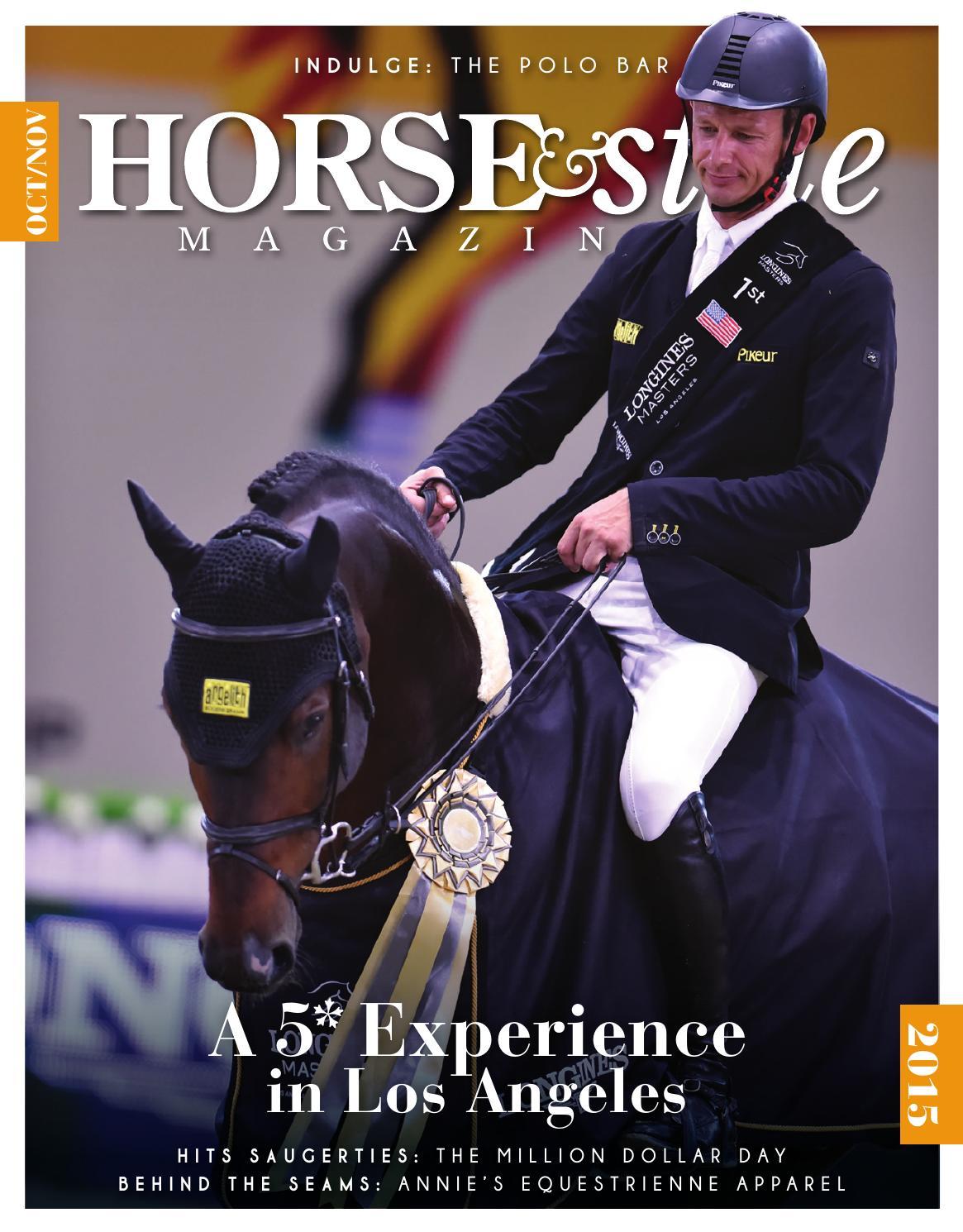 9e413f828a36 Horse   Style Magazine Oct Nov 2015 by Horse   Style Magazine - issuu
