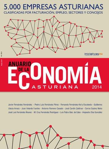 ANUARIO DE LA ECONOMÍA ASTURIANA 2014 by iniciativasmk - issuu d6dc8b1135839