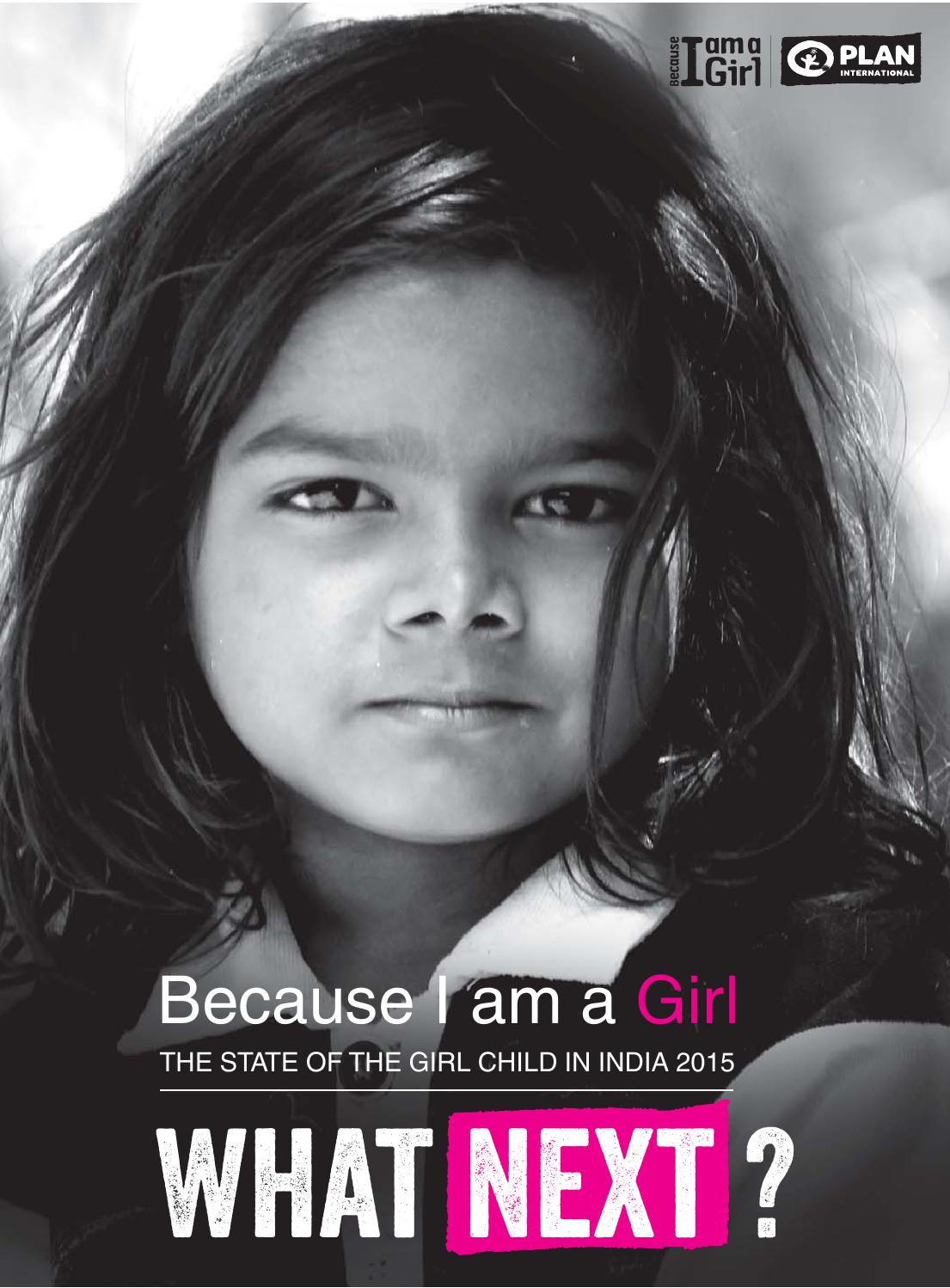 Because I am a Girl - The state of The Girl Child 2015 by