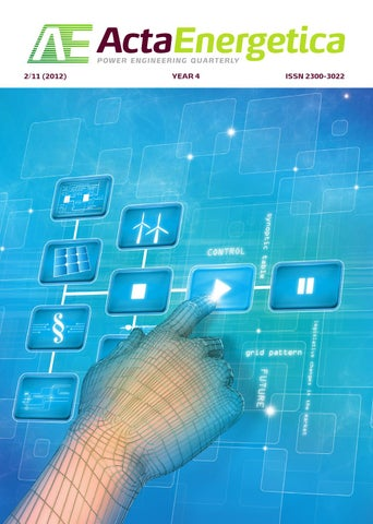 cf525c4b70ecb6 Acta Energetica Power Engineering Quarterly 2/11 (June 2012) by ...