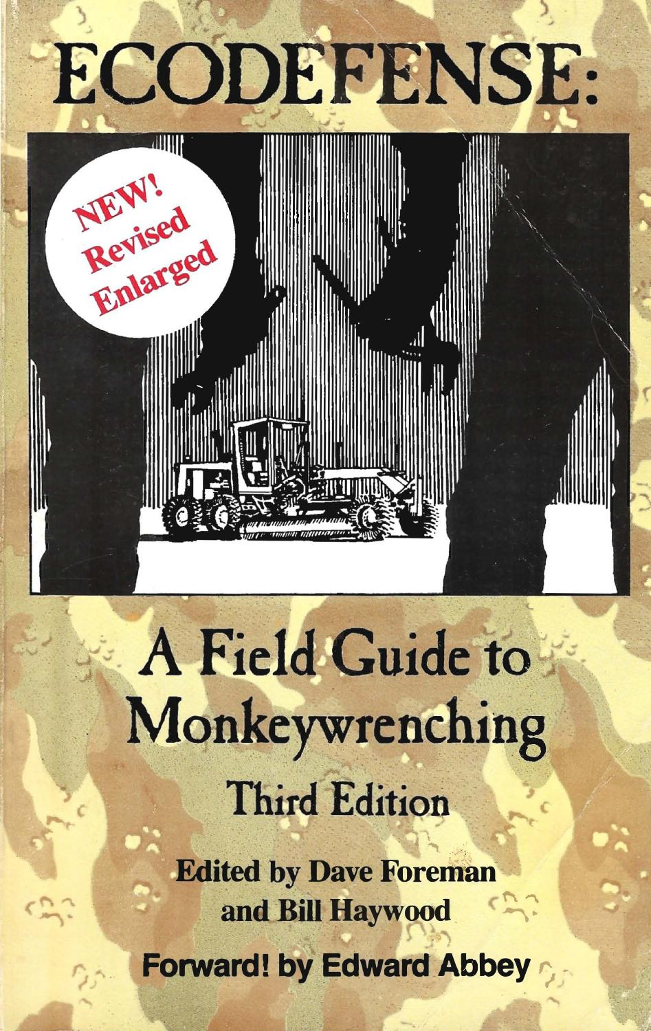 Eco defense a field guide to monkey wrenching (1) by kalitpf