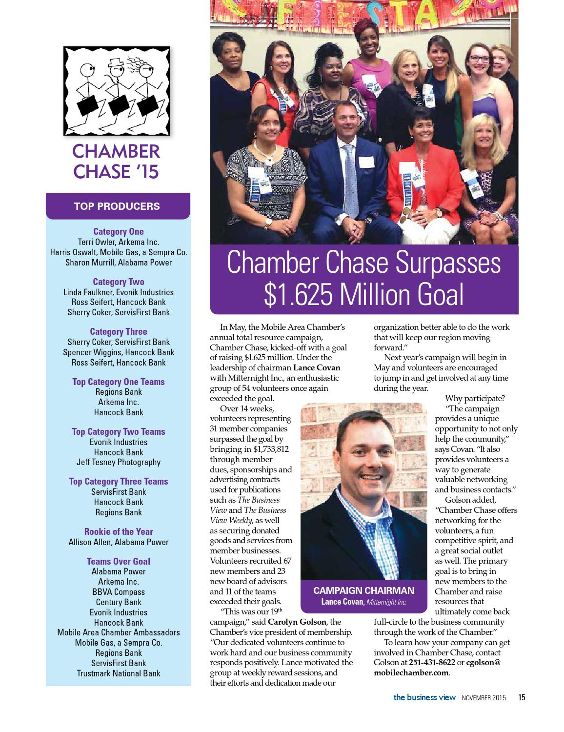 The Business View - November 2015