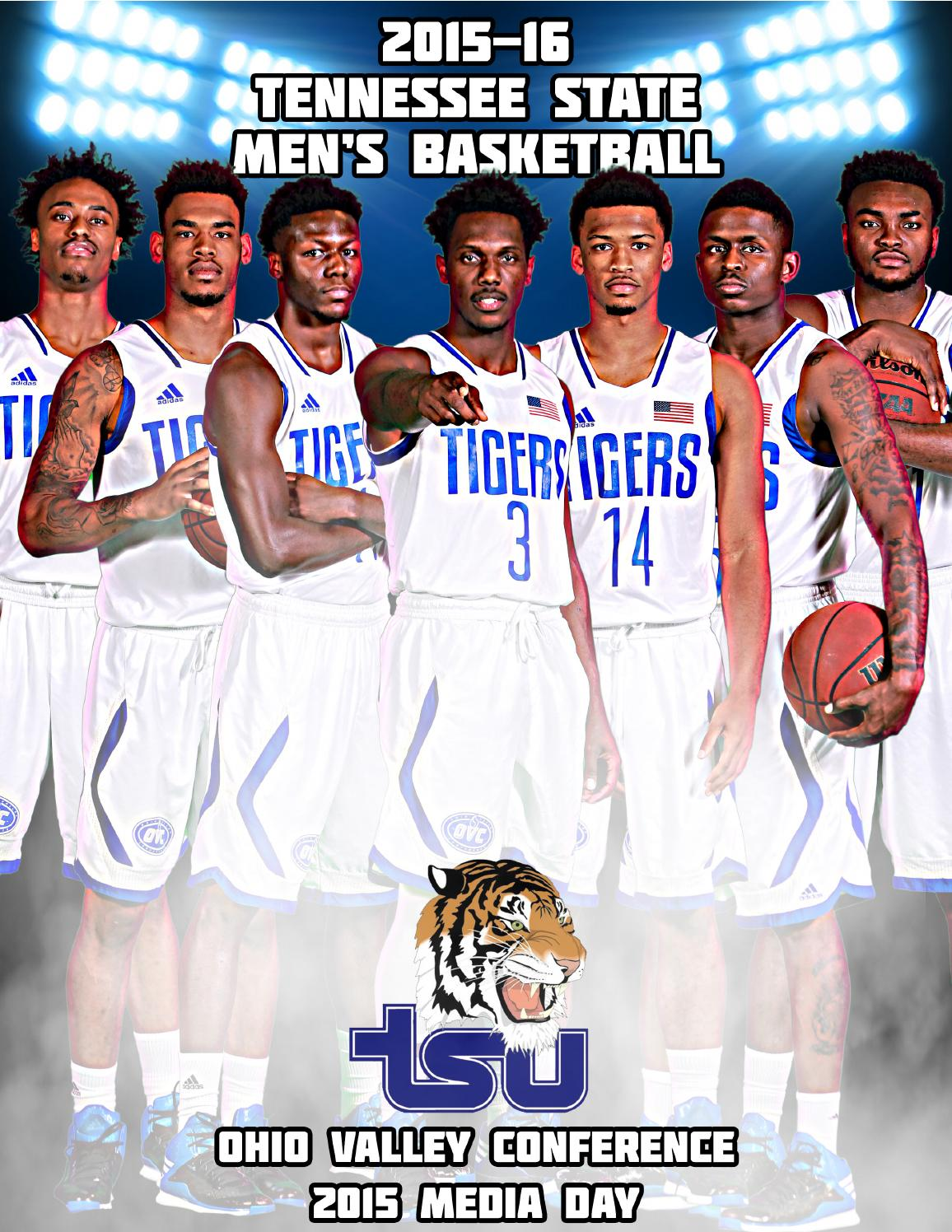 2015-16 TSU Men's Basketball - OVC Media Day Guide by ...