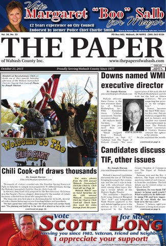 The Paper of Wabash County - Oct. 19, 2016, issue by The Paper of ...