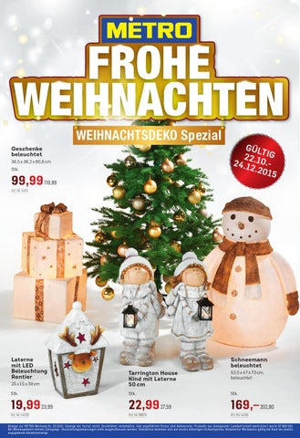 Metro Weihnachtsdeko 2210 2512 By Rakouske Letaky Issuu