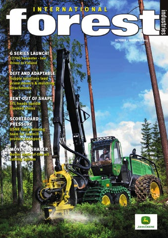 International Forest Industries Magazine October November