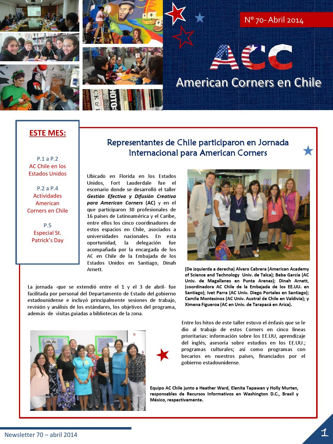 ACC Newsletter abril 2014