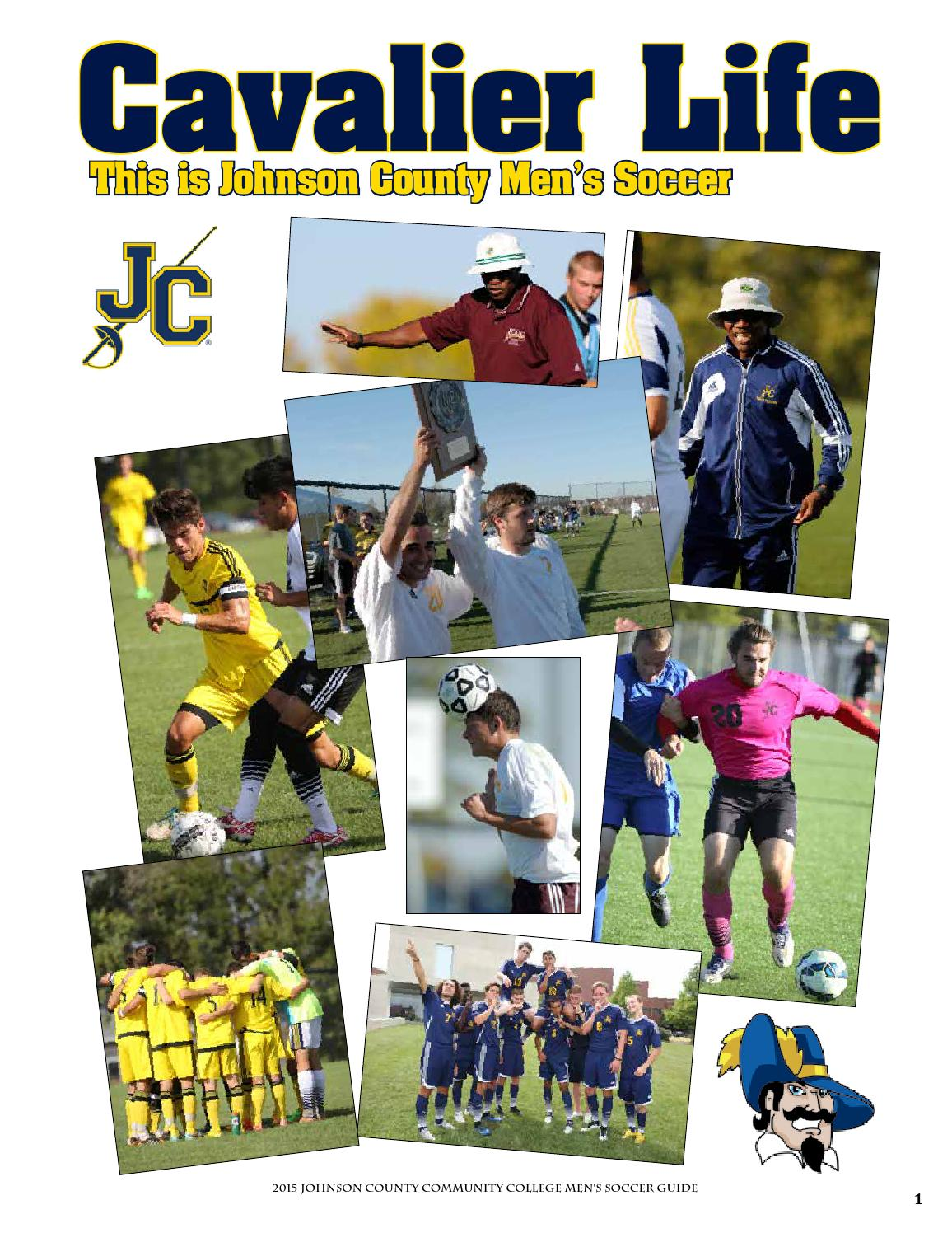 the best attitude 51522 b1823 2015 JCCC Soccer Guide Men by Chris Gray - issuu