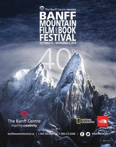 066c533aa Banff Mountain Film and Book Festival Program 2015 by Banff Centre ...