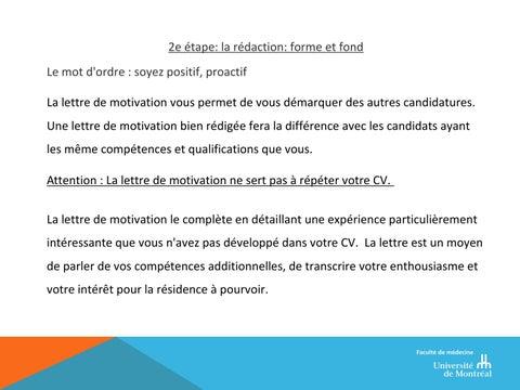 Journée Carms Lettres De Motivation By Jessica R Laliberté
