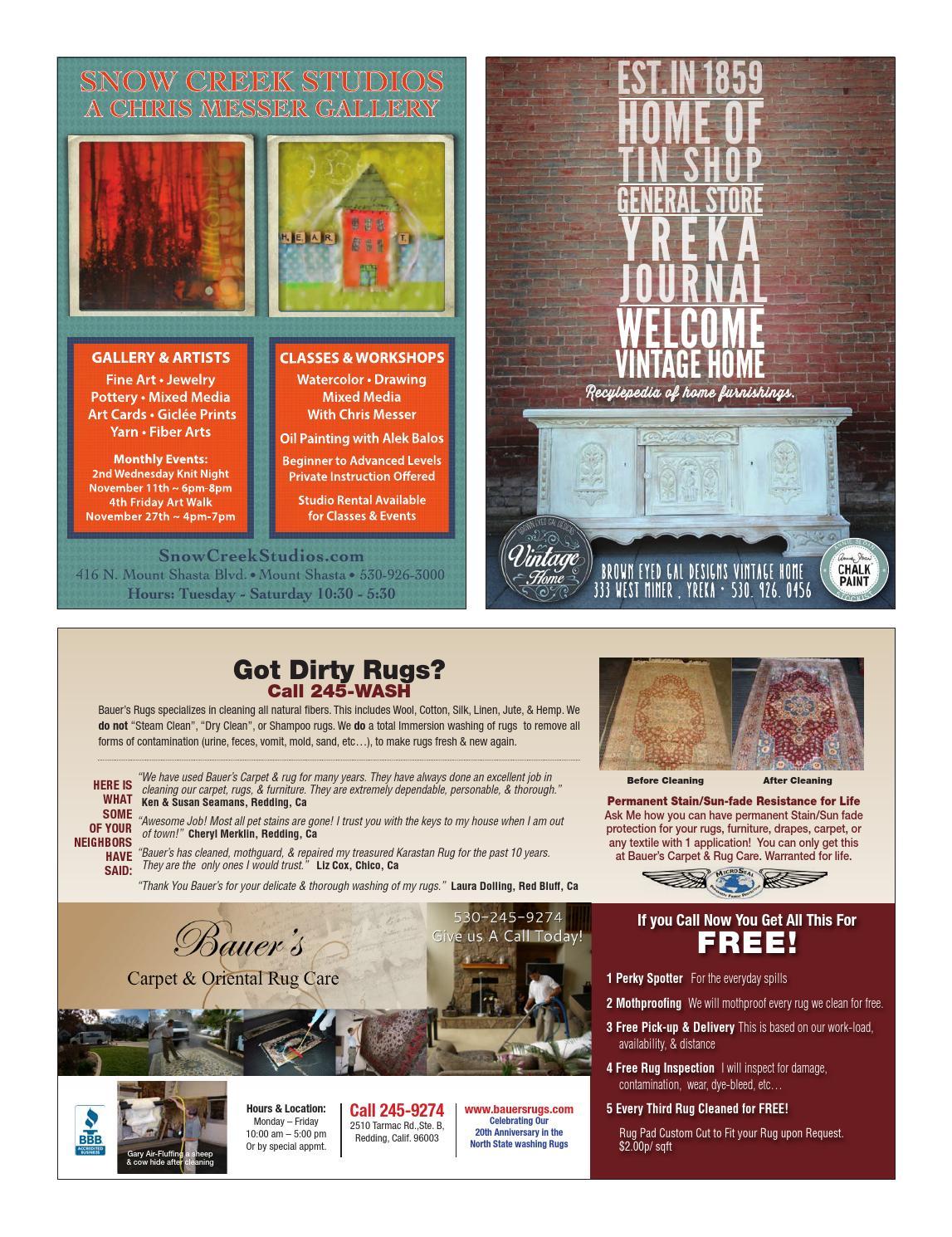 Enjoy Magazine Northern California Living November 2015 By