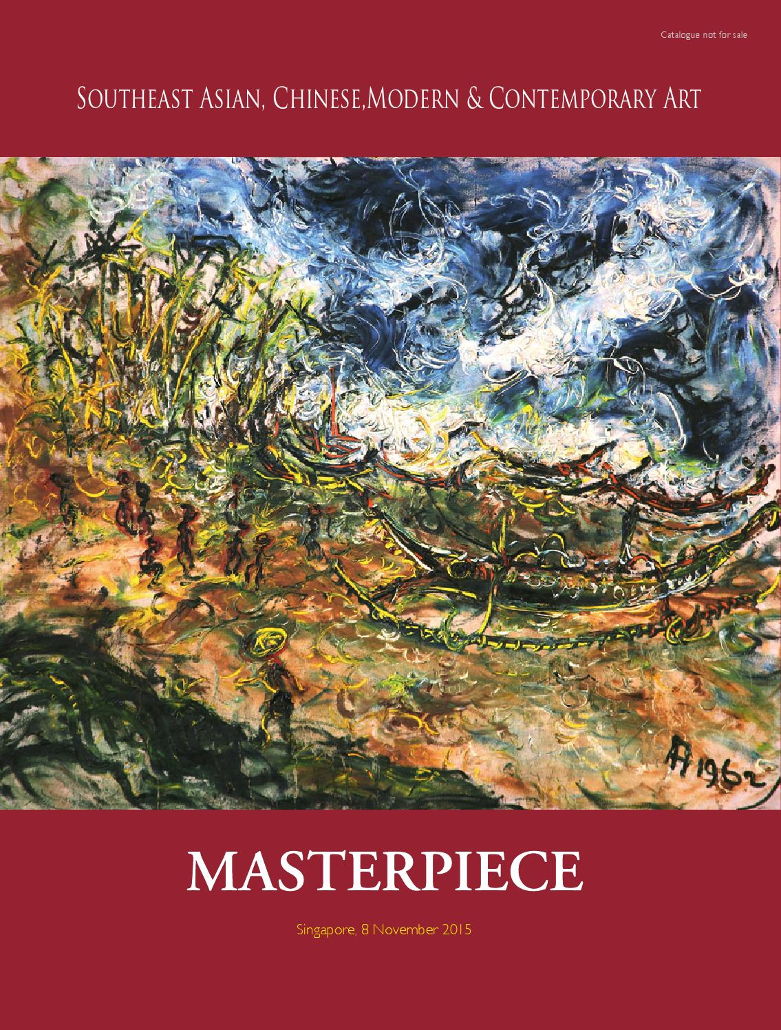 MASTERPIECE Singapore By MASTERPIECE Auction House Indonesia