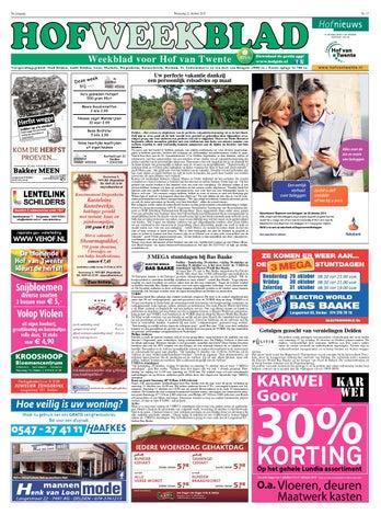 8356859eb41 Hofweekblad week 43 15 by Regionale Uitgeversgroep - issuu