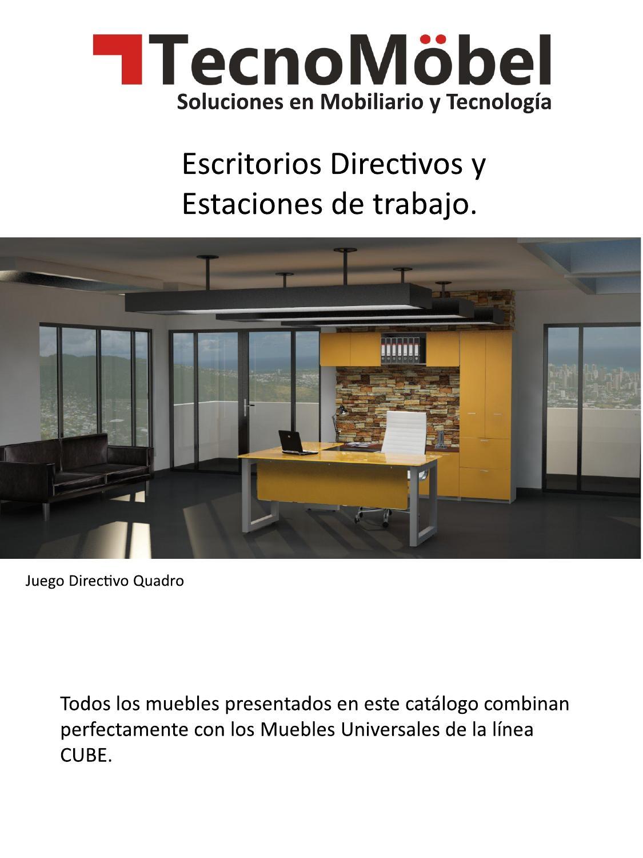 Cat logo escritorios by tecnom bel issuu - Catalogo escritorios ...