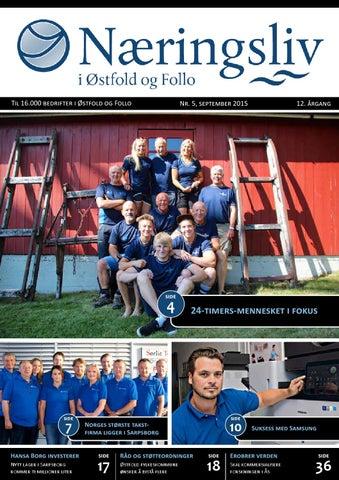 a9c942f7 Næringsliv i Østfold og Follo, sept. 2015 by Viken Media AS - issuu