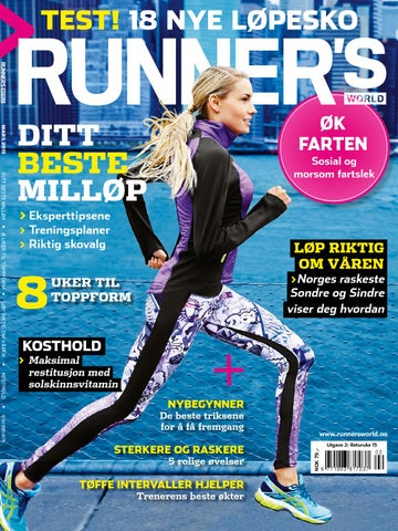 4e2a82d1 Runner' World 215 by Runner's World Norge - issuu