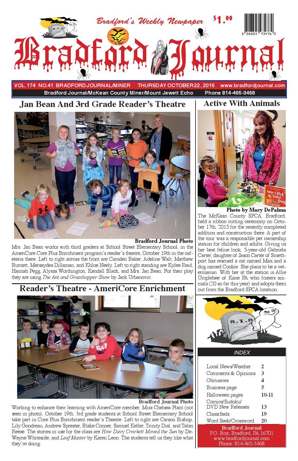 Bradfordjournalcolorissue10 22 15n by Bradford Journal - issuu