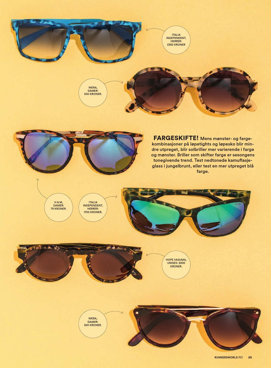 h og m solbriller