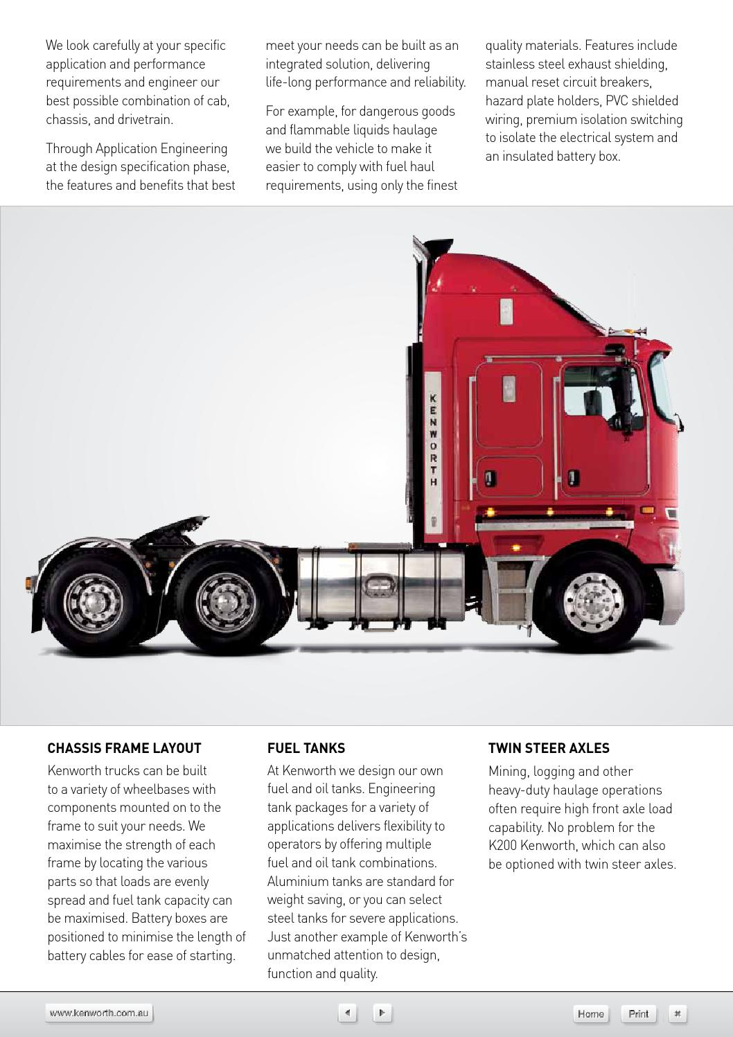 Kenworth K200 Trucks by LoganHowell - issuu