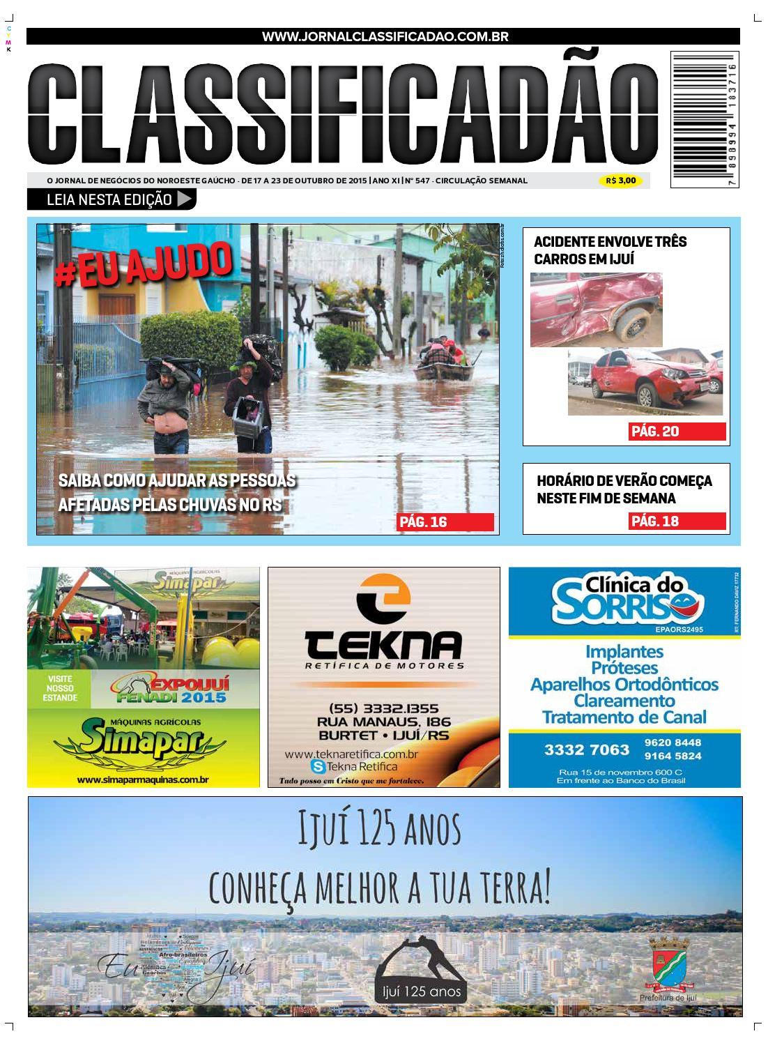 17783838ef Classificadão 547 by Jornal Classificadão - issuu