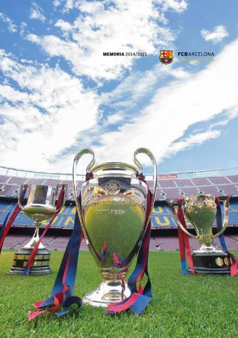 MEMORIA ANUAL FC BARCELONA TEMPORADA 2014 15 by FC Barcelona - issuu ef3f2111772