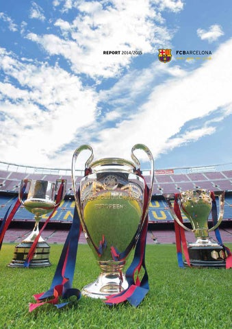 a168d182f2 REPORT FC BARCELONA SEASON 2014 15 by FC Barcelona - issuu