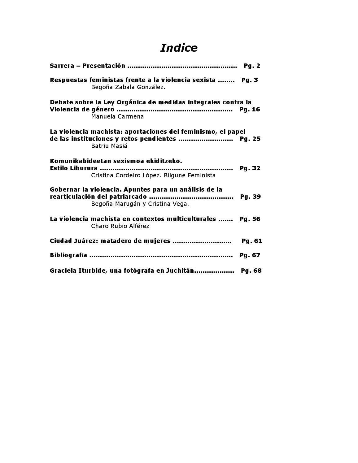 1924d63720f Dossier frente a la violencia sexista respuestas feministas(1) by  Coordinadora Feminista - issuu