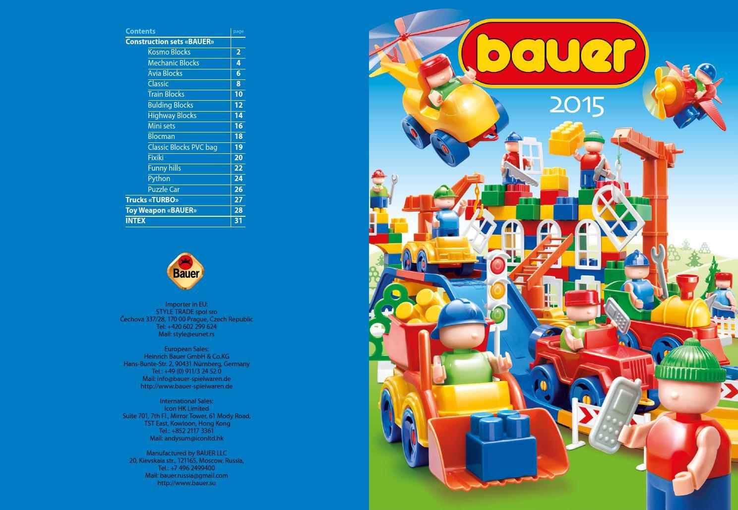 Bauer katalog 04 10 2015 копия by Bauer Toys - issuu