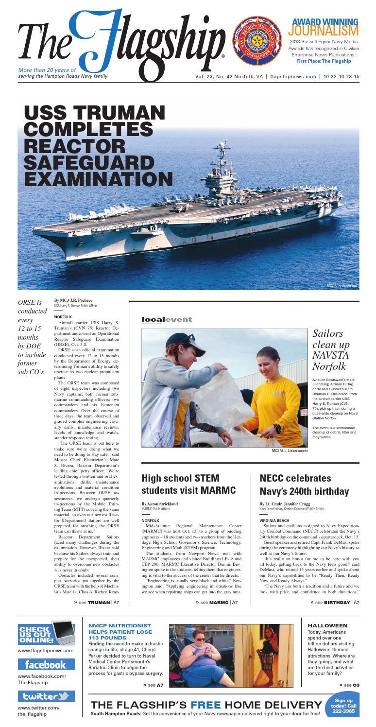 Flagship 10/22/15 by Military News - issuu