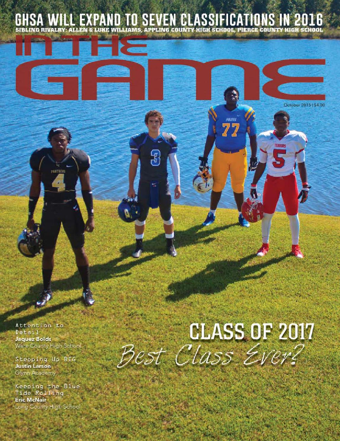 October 2015 Southeast Georgia Edition By In The Game Magazine Issuu