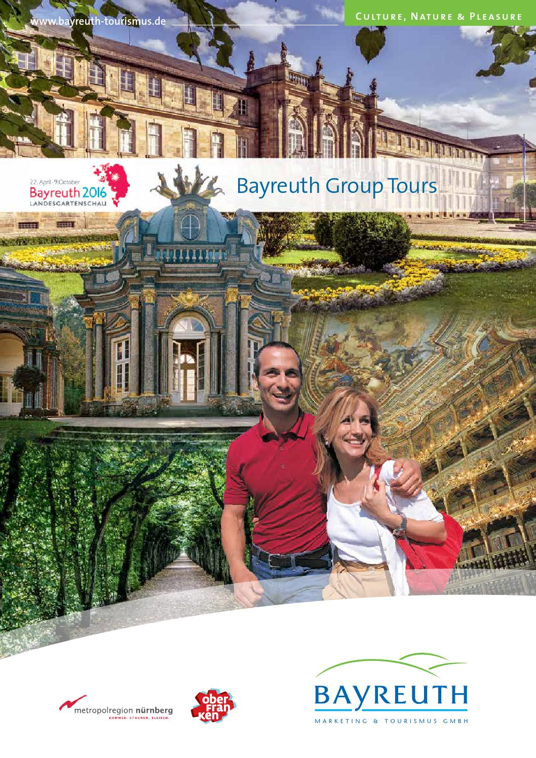 Coaching Bayreuth bayreuth tours 2015 by bayreuth tourismus issuu